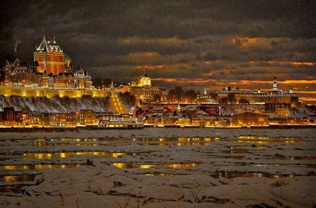 Затишні зимові картини міст, які дарують святковий настрій - фото 293718