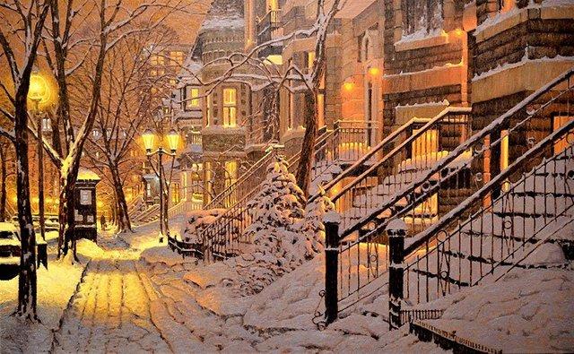 Затишні зимові картини міст, які дарують святковий настрій - фото 293719