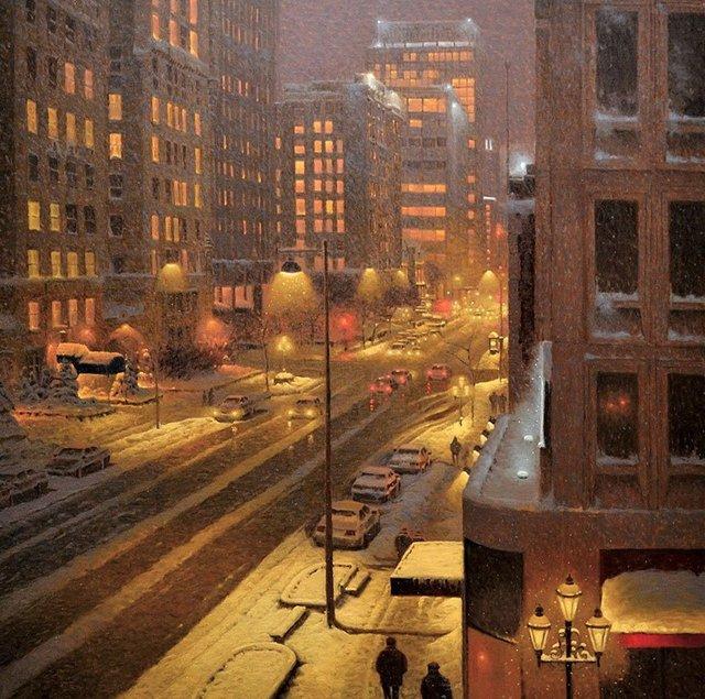 Затишні зимові картини міст, які дарують святковий настрій - фото 293720