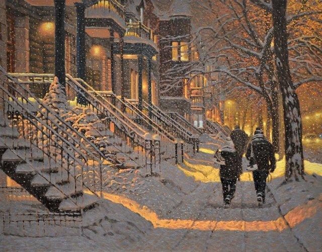 Затишні зимові картини міст, які дарують святковий настрій - фото 293721