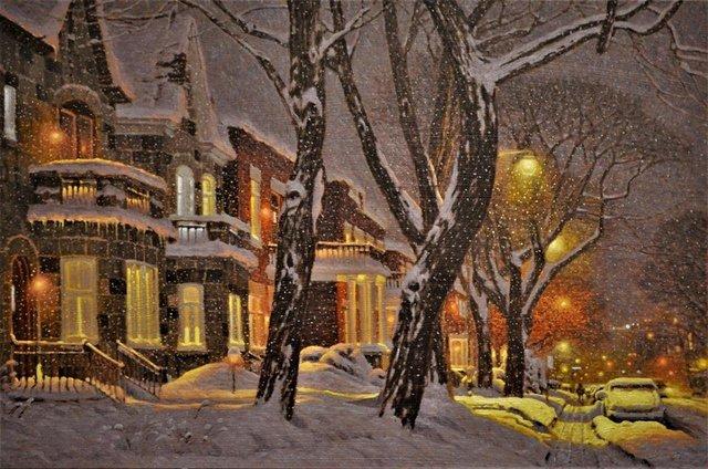 Затишні зимові картини міст, які дарують святковий настрій - фото 293723