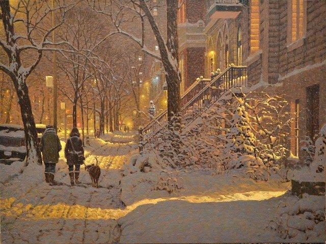 Затишні зимові картини міст, які дарують святковий настрій - фото 293724