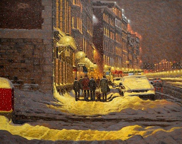 Затишні зимові картини міст, які дарують святковий настрій - фото 293725