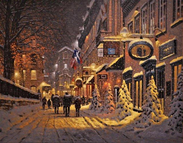 Затишні зимові картини міст, які дарують святковий настрій - фото 293726