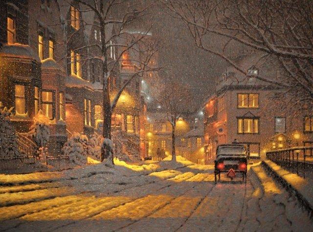 Затишні зимові картини міст, які дарують святковий настрій - фото 293727