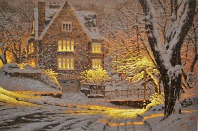 Затишні зимові картини міст, які дарують святковий настрій - фото 293728