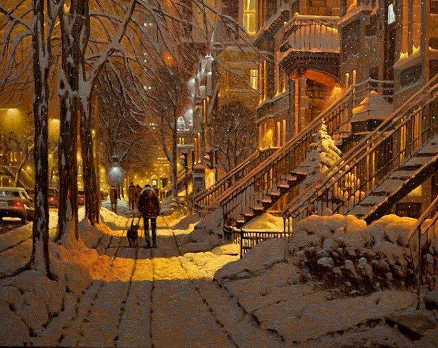 Затишні зимові картини міст, які дарують святковий настрій - фото 293729