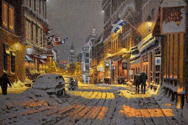 Затишні зимові картини міст, які дарують святковий настрій - фото 293731