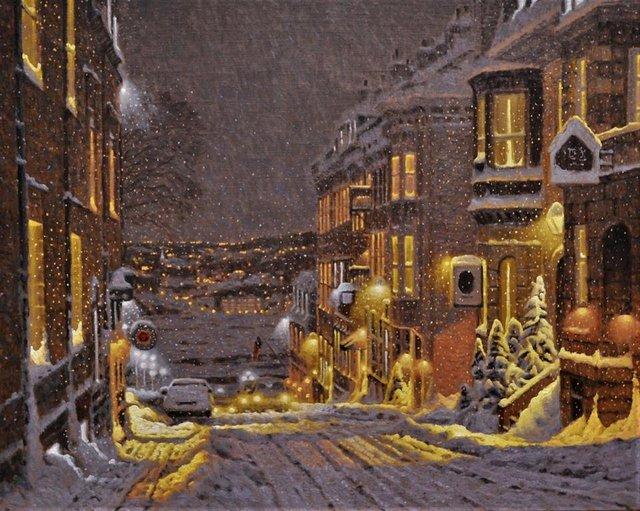 Затишні зимові картини міст, які дарують святковий настрій - фото 293732