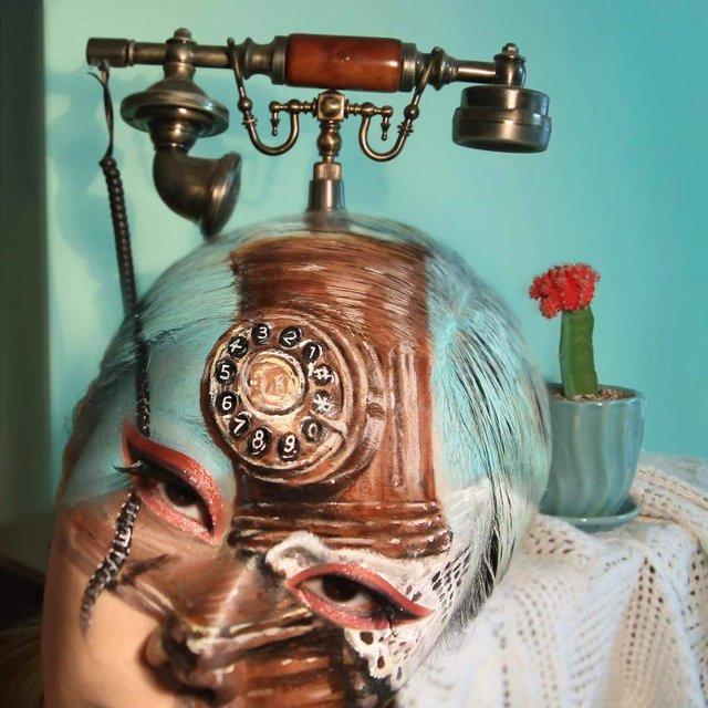 Моторошні оптичні ілюзії, створені за допомогою макіяжу - фото 294028