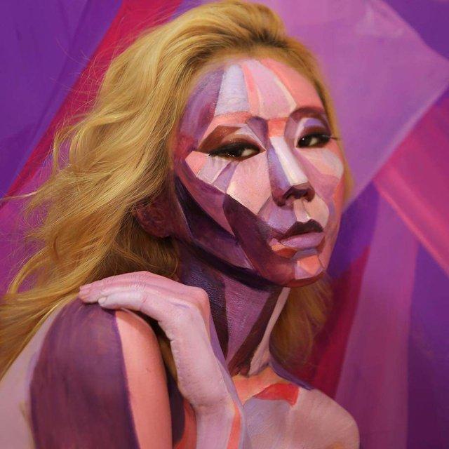 Моторошні оптичні ілюзії, створені за допомогою макіяжу - фото 294029