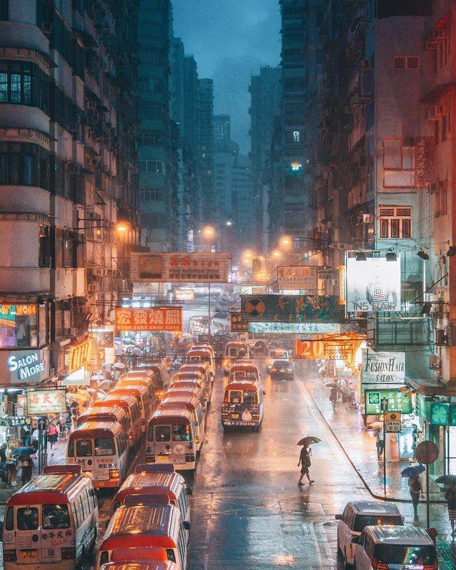 Гонконг у яскравих вуличних фото Дональда Чана - фото 294091