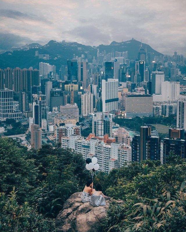 Гонконг у яскравих вуличних фото Дональда Чана - фото 294102