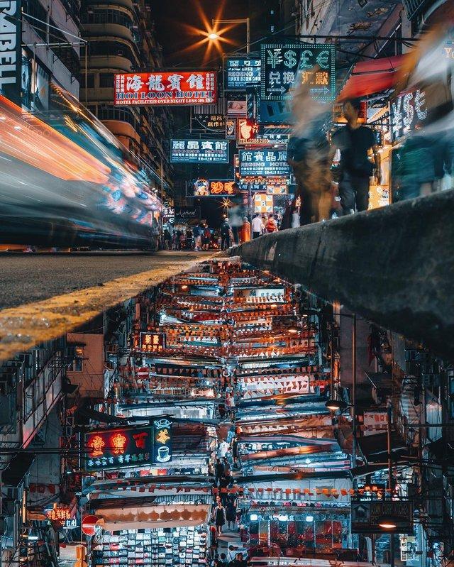 Гонконг у яскравих вуличних фото Дональда Чана - фото 294107