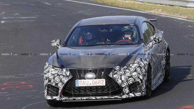 Стало відомо, коли Lexus покаже свій екстремальний RC F Track Edition - фото 294241