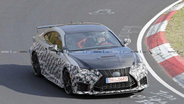 Стало відомо, коли Lexus покаже свій екстремальний RC F Track Edition - фото 294243