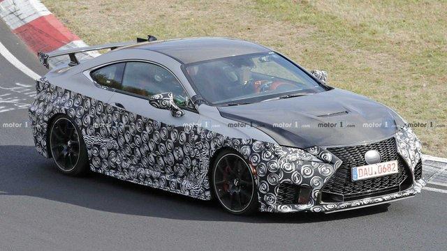Стало відомо, коли Lexus покаже свій екстремальний RC F Track Edition - фото 294244