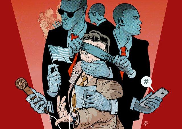 Жорстокі ілюстрації сучасного суспільства, які варто побачити - фото 294297