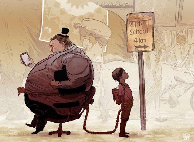 Жорстокі ілюстрації сучасного суспільства, які варто побачити - фото 294300