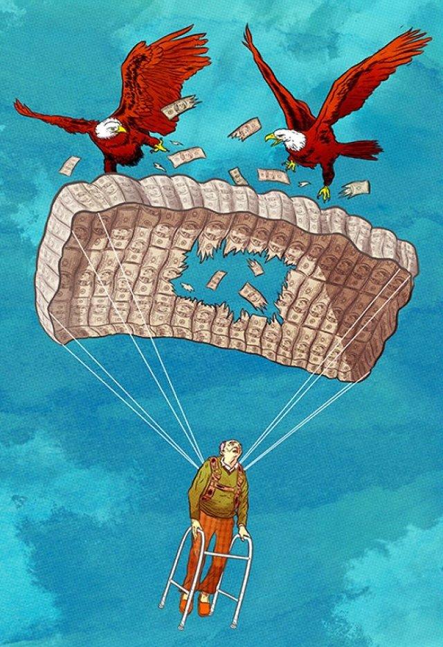 Жорстокі ілюстрації сучасного суспільства, які варто побачити - фото 294309