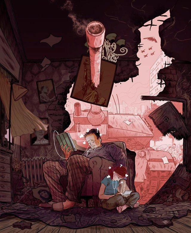 Жорстокі ілюстрації сучасного суспільства, які варто побачити - фото 294311