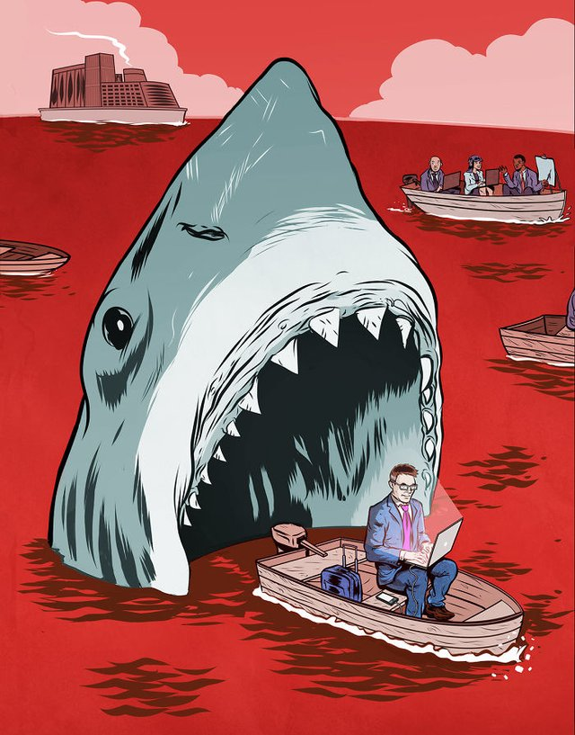 Жорстокі ілюстрації сучасного суспільства, які варто побачити - фото 294315
