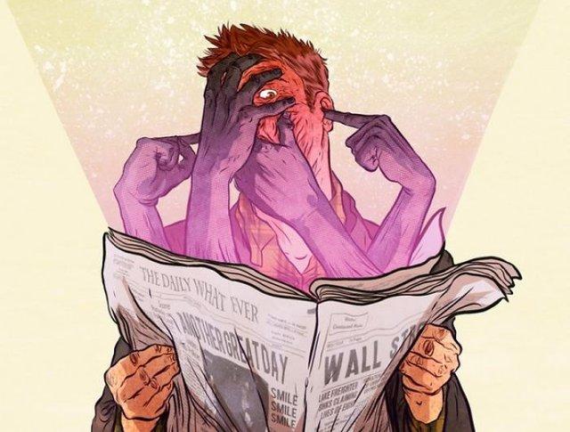 Жорстокі ілюстрації сучасного суспільства, які варто побачити - фото 294316