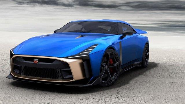 Спеціальний суперкар Nissan GT-R - фото 294383