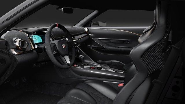 Салон Nissan GT-R - фото 294384