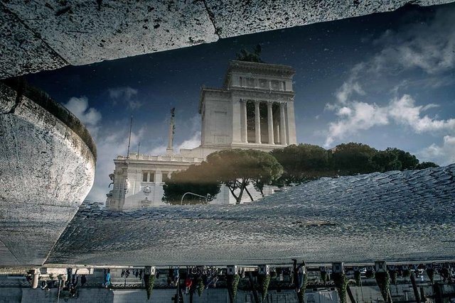 Особлива краса Риму з несподіваного ракурсу: фото - фото 294503