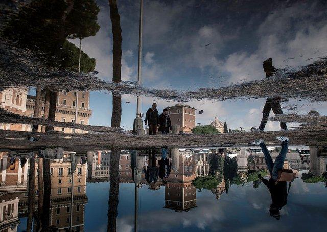 Особлива краса Риму з несподіваного ракурсу: фото - фото 294504
