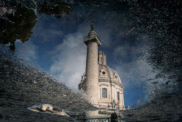 Особлива краса Риму з несподіваного ракурсу: фото - фото 294505