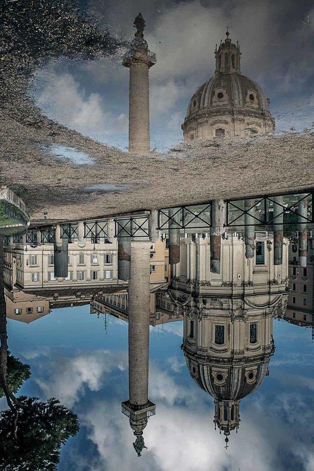 Особлива краса Риму з несподіваного ракурсу: фото - фото 294506