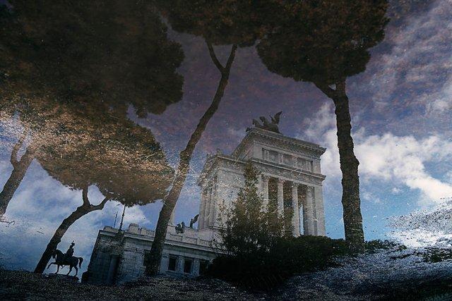 Особлива краса Риму з несподіваного ракурсу: фото - фото 294507