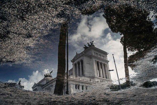 Особлива краса Риму з несподіваного ракурсу: фото - фото 294508