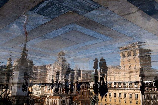 Особлива краса Риму з несподіваного ракурсу: фото - фото 294509
