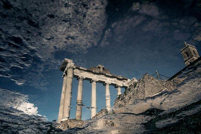 Особлива краса Риму з несподіваного ракурсу: фото - фото 294510