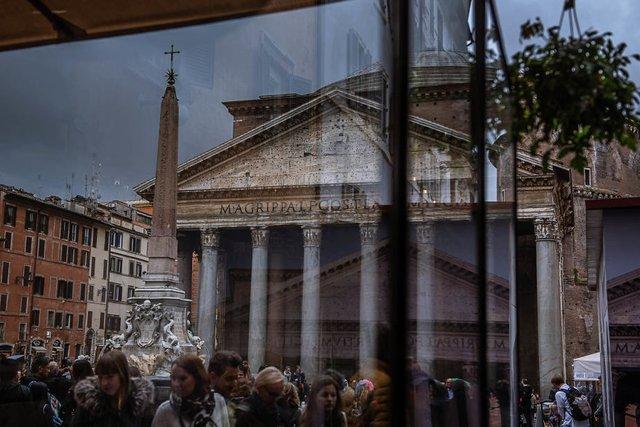 Особлива краса Риму з несподіваного ракурсу: фото - фото 294511