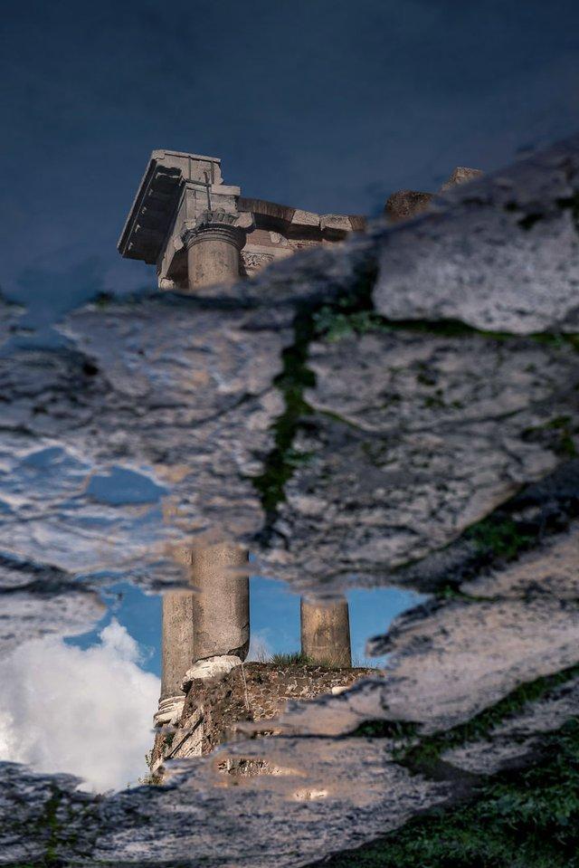Особлива краса Риму з несподіваного ракурсу: фото - фото 294515