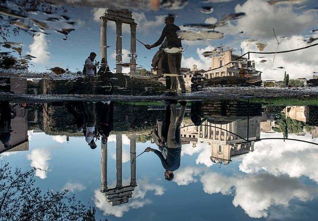 Особлива краса Риму з несподіваного ракурсу: фото - фото 294518