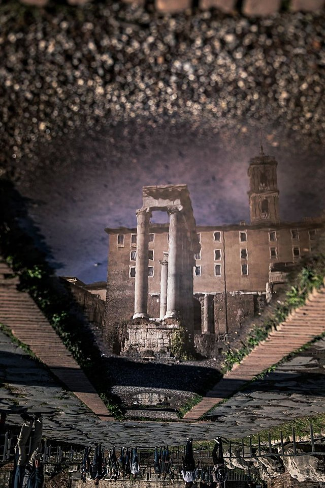 Особлива краса Риму з несподіваного ракурсу: фото - фото 294520
