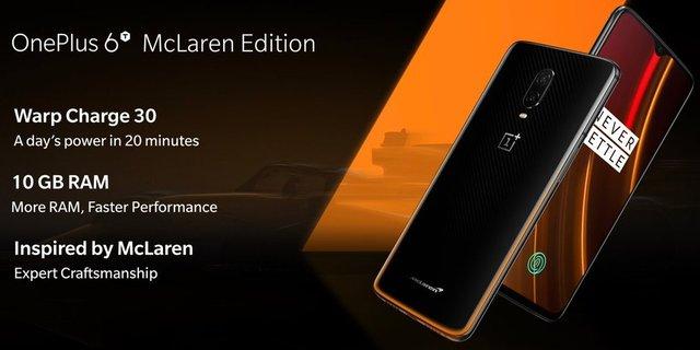 OnePlus 6T McLaren Edition - фото 294586