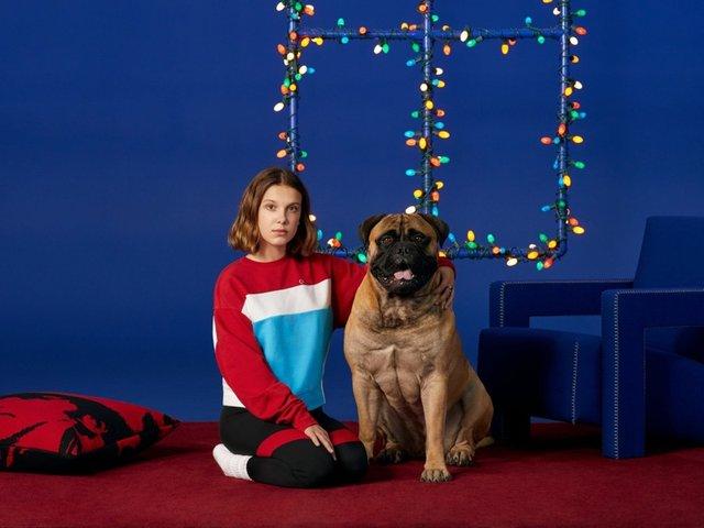 Міллі Боббі Браун знялася у святковому кампейні Calvin Klein - фото 294882