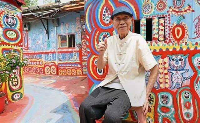 96-річний художник врятував від зникнення ціле село - фото 294974