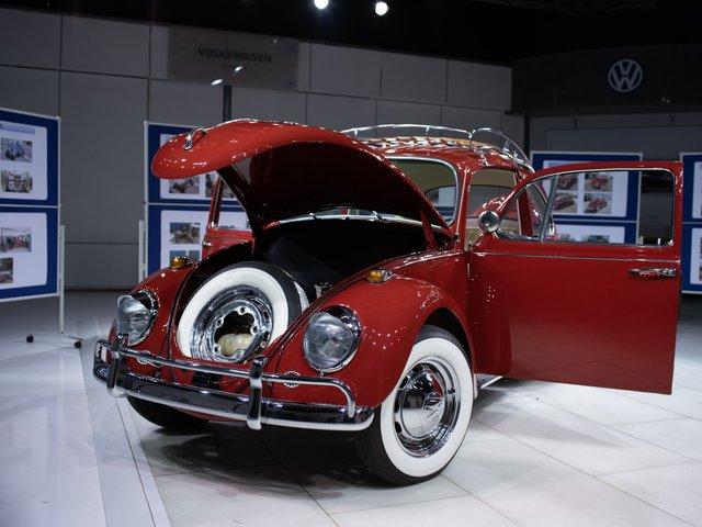 Відреставрований Volkswagen Beetle  - фото 295279