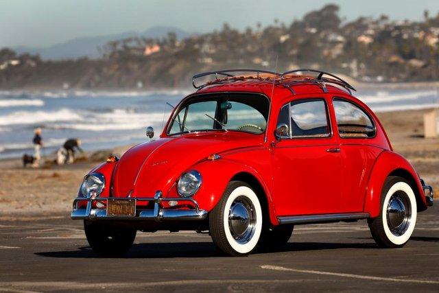 Відреставрований Volkswagen Beetle  - фото 295280