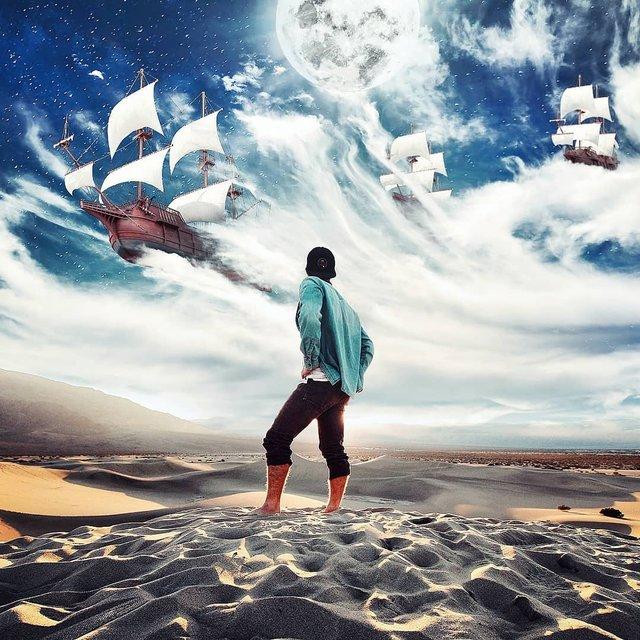 Неймовірний світ у роботах Джастіна Майна: ефектні фото - фото 295461