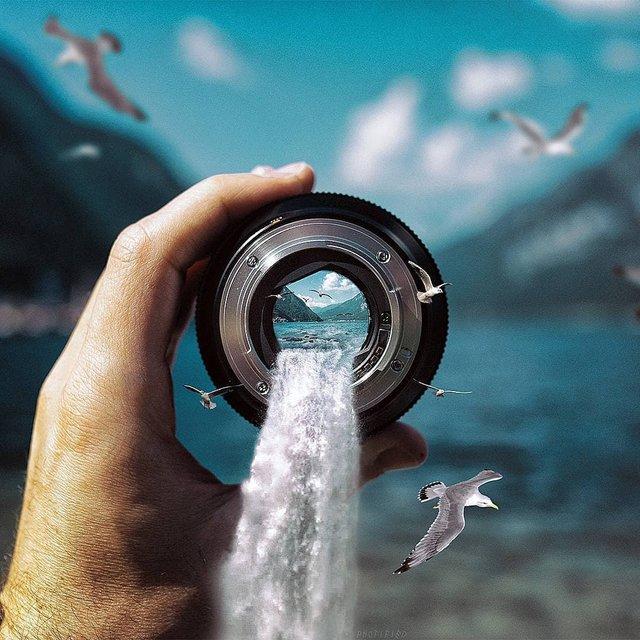 Неймовірний світ у роботах Джастіна Майна: ефектні фото - фото 295462