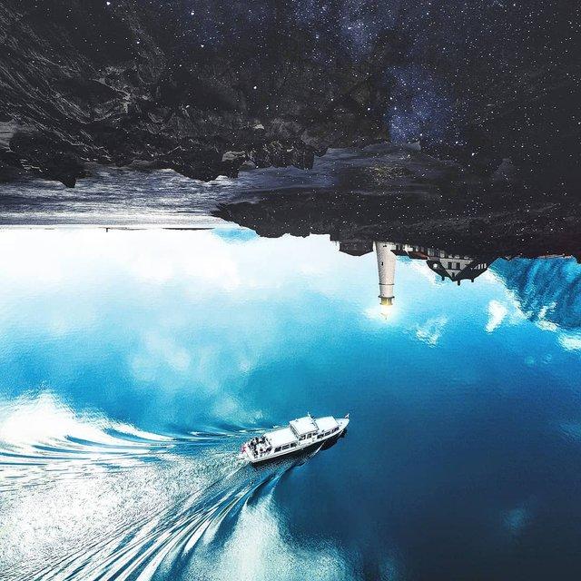 Неймовірний світ у роботах Джастіна Майна: ефектні фото - фото 295465