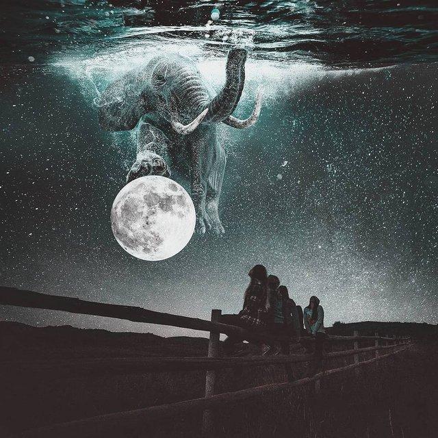 Неймовірний світ у роботах Джастіна Майна: ефектні фото - фото 295466